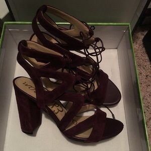 Sam Edelman Yardley suede sandals